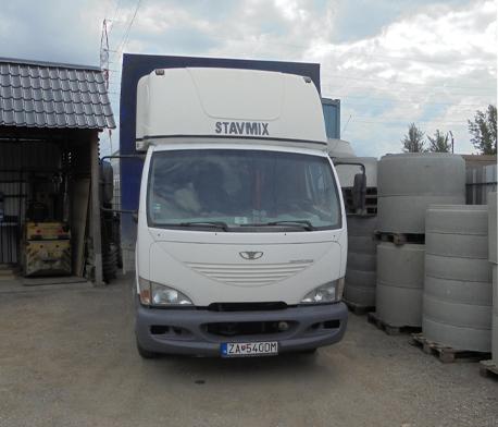 Nákladná doprava STAVMIX